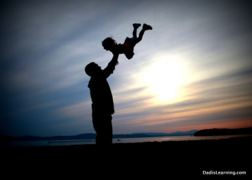 silhouette-photo-dad-and-child